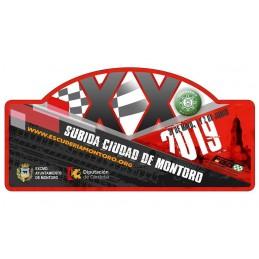 Placa Montoro 2019 grande
