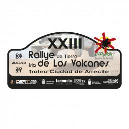 Placa adhesivo Rallye Isla...