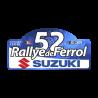 Placa Rallye de Ferrol-Suzuki 2021- vinilo pequeño