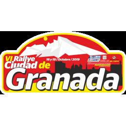 Placa  VII Rallye Ciudad de...