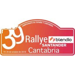 Placa  2018 Cantabria grande