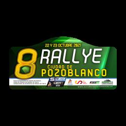 Placa 8º Rallye Ciudad de...