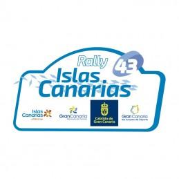 Placa 2019 Rally Islas Canarias grande