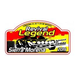 Placa Rallye Sierra Morena...
