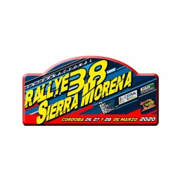 copy of Placa 38º Rallye...