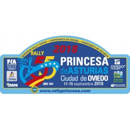 Placa 55º Rallye Princesa...