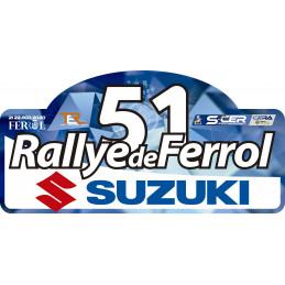Placa Rallye de...