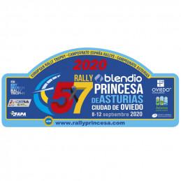Placa 57º Princesa de...