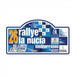 Placa 26º Rallye de la...