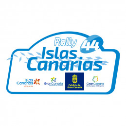 Placa Rally Islas Canarias...