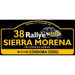 Placa adhesivo 38º Rallye...