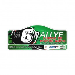 Placa Rallye Pozoblanco...